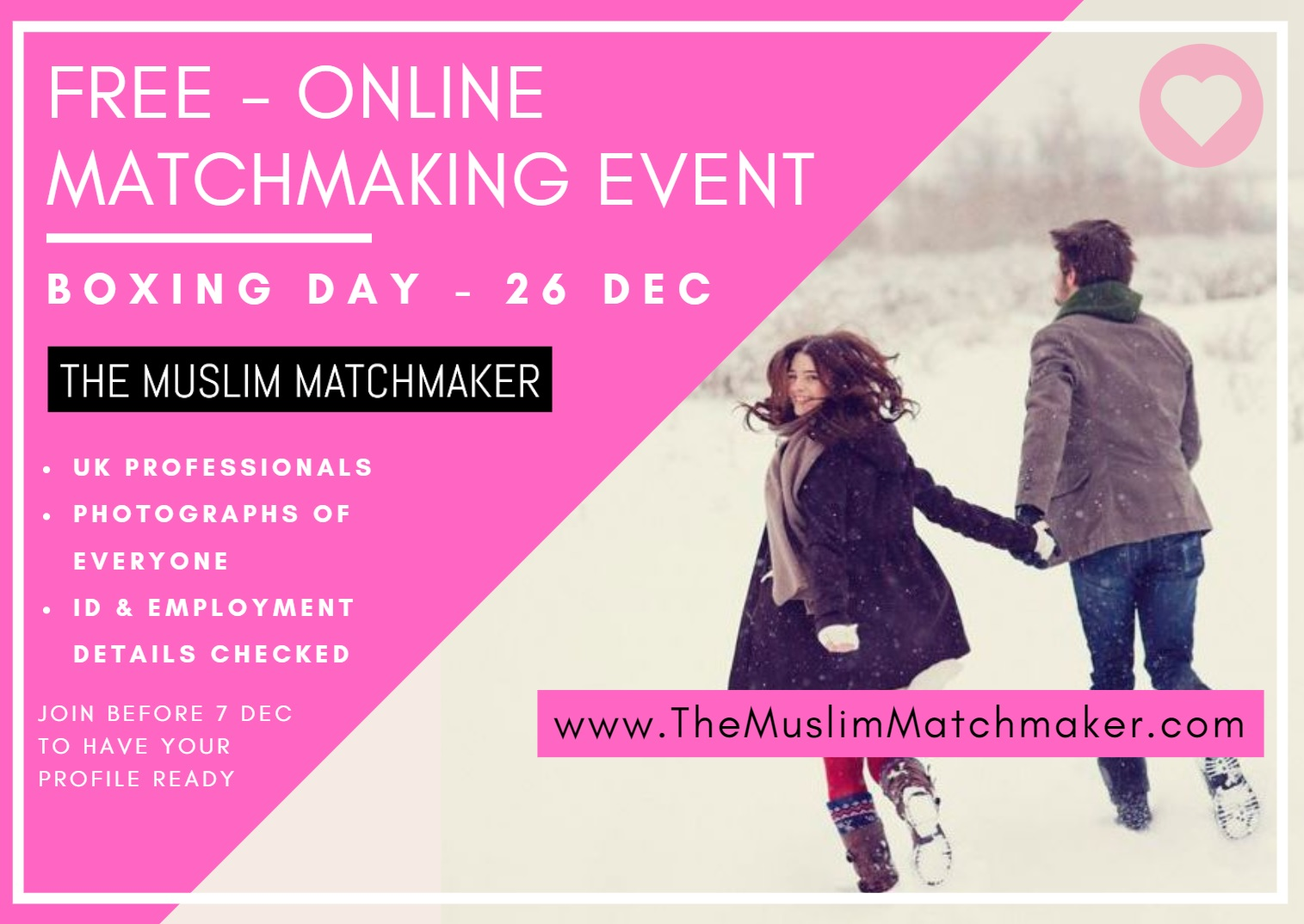 The Muslim Matchmaker, Muslim Marriage Event